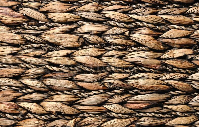 Rattan pattern stock photo