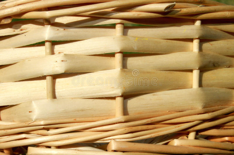 Rattan pattern. Detailed pattern of a rattan weave stock image
