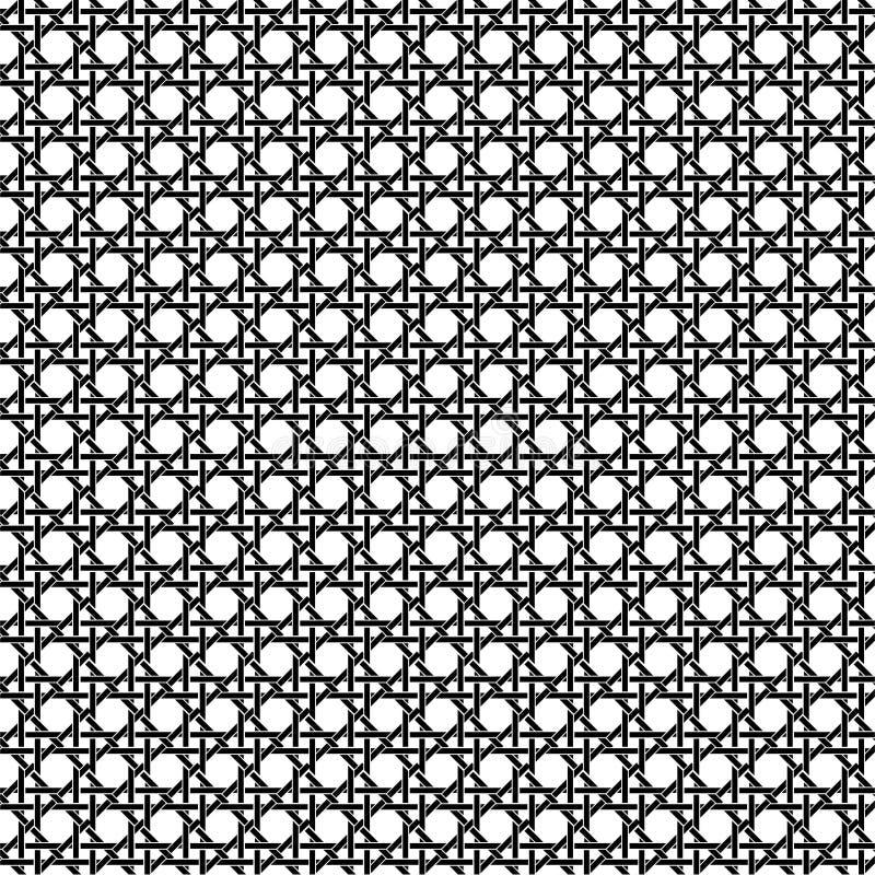 Rattanstuhlmuster vektor abbildung