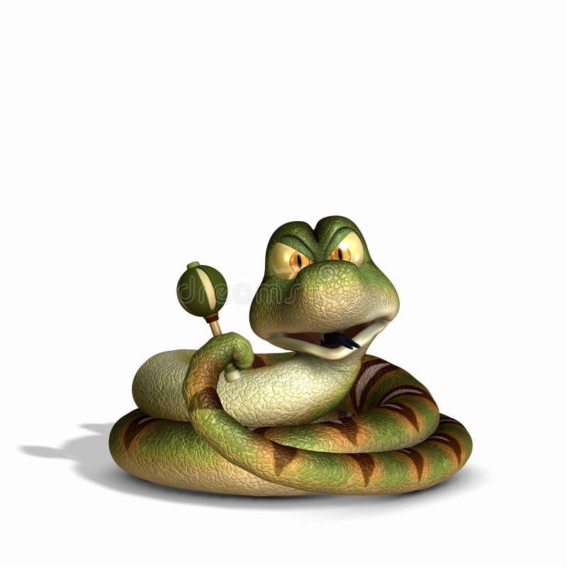 Rattle Snake 1 Royalty Free Stock Image