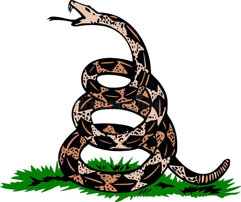 rattlesnake royalty-vrije stock fotografie