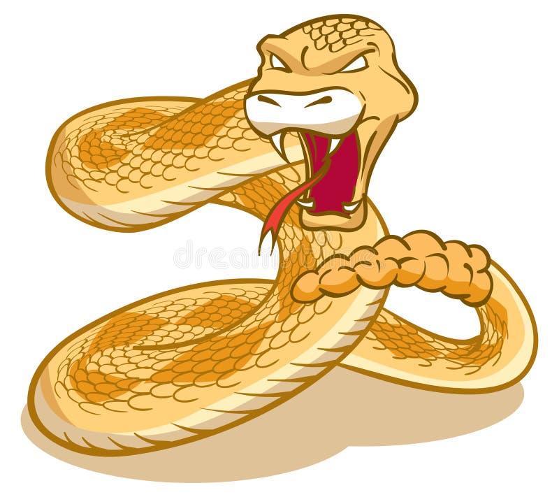 rattlesnake libre illustration