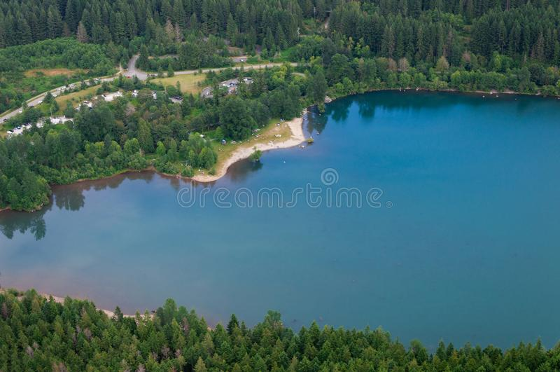 Rattlesnake Lake stock photo