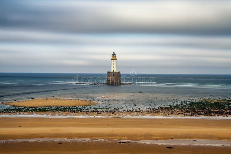Rattray头灯塔在苏格兰 库存图片