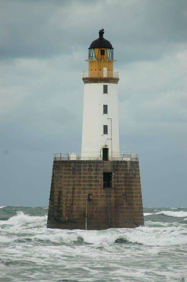 Rattray Head Lighthouse, Scotland stock photos