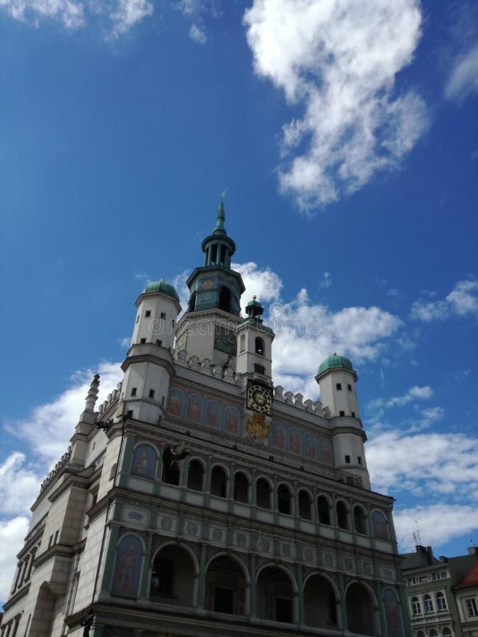 ratusz Poznan zdjęcie royalty free