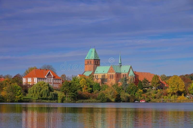 Ratzeburg royalty-vrije stock afbeelding