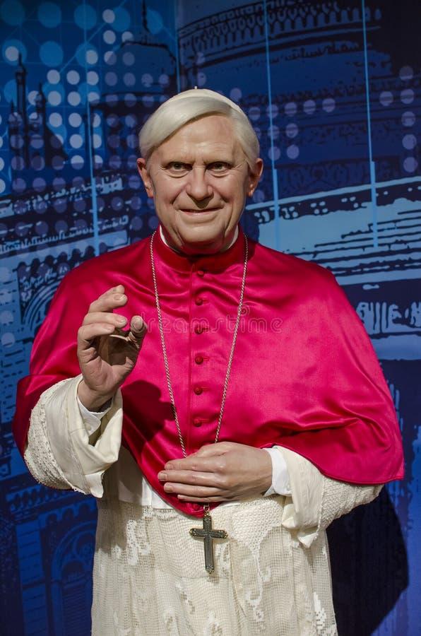 Ratzinger aloisius Иосиф стоковая фотография