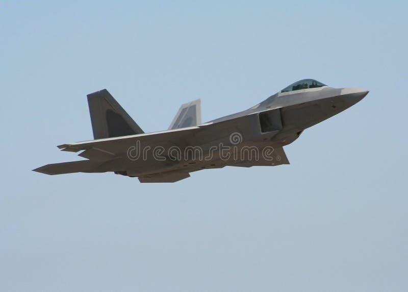 Raubvogel F-22 lizenzfreies stockfoto