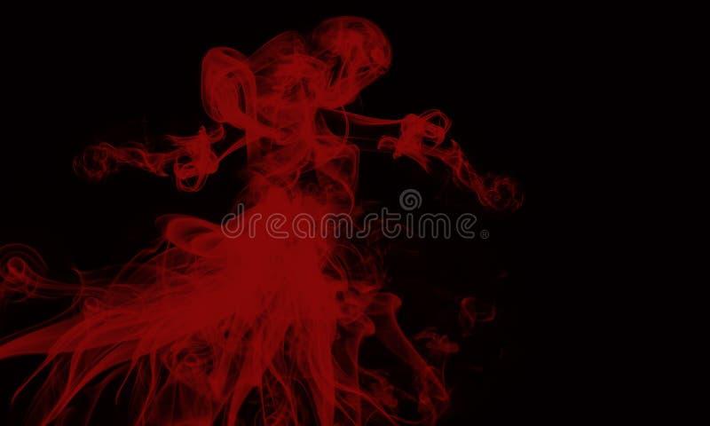 Rauch-Geist lizenzfreies stockfoto