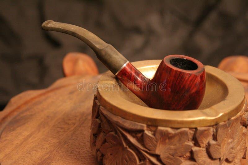 Rauch pipe-2 stockfoto