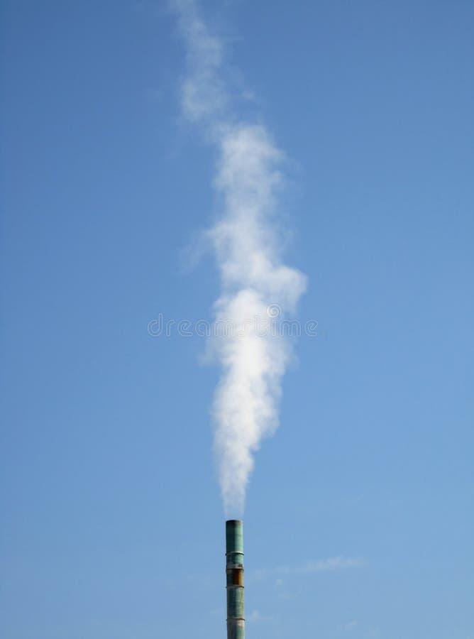 Rauch-Stapel stockfoto