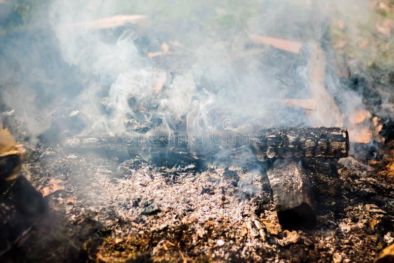 Rauch vom Herd Struktur des Rauches für Design projects_ stockbild