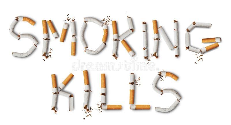 Rauchende Tötungen vektor abbildung