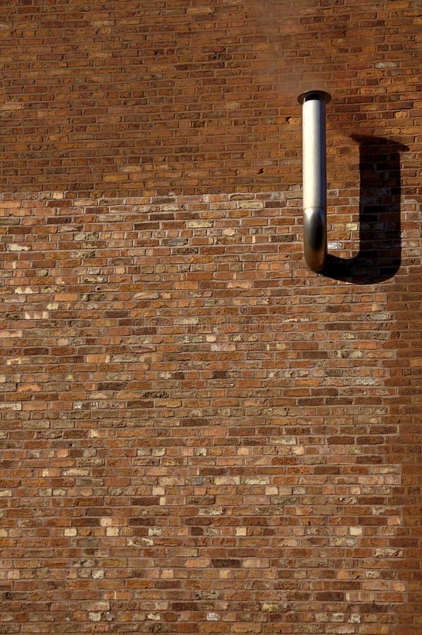 Rauchende Wand stockfoto