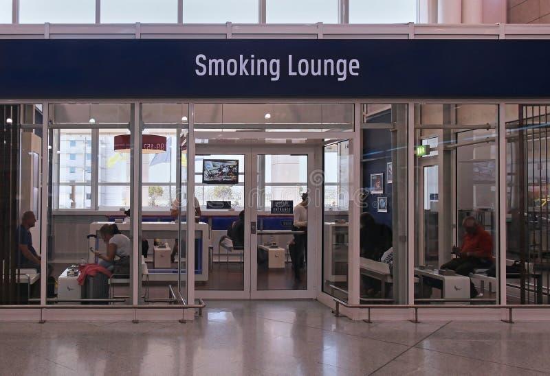 Rauchender Aufenthaltsraum lizenzfreies stockbild