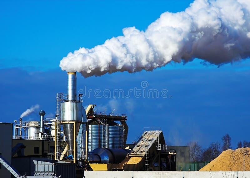 Rauchendes Gefäß lizenzfreie stockbilder