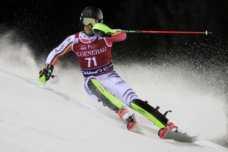 Ski FIS AUDI World Cup - Slalom Men royalty free stock photography