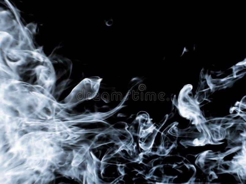 Rauchhintergrund lizenzfreies stockfoto
