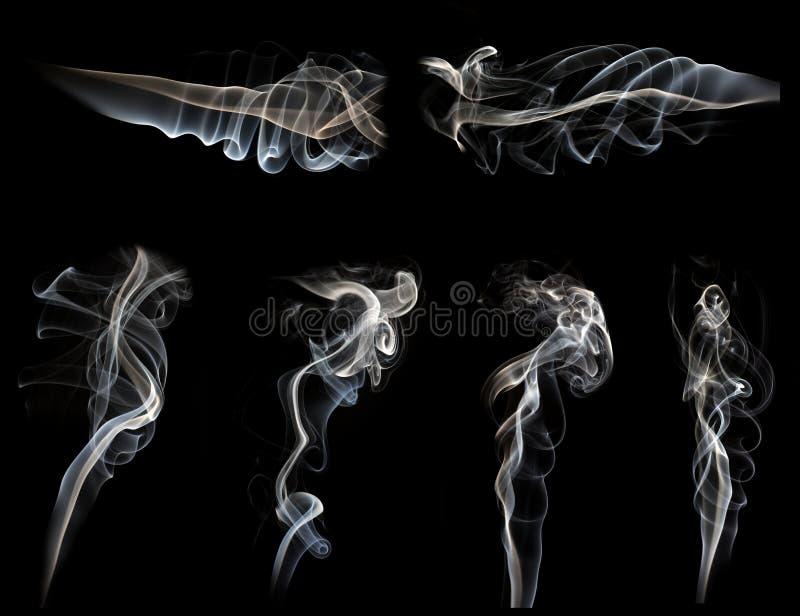 Rauchsammlung stockbilder