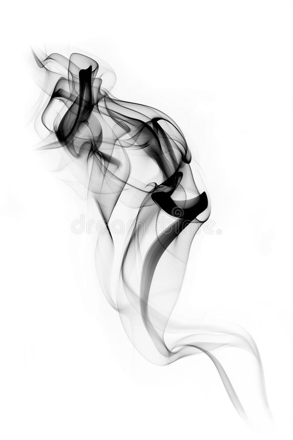 Rauchspur lizenzfreie stockfotos