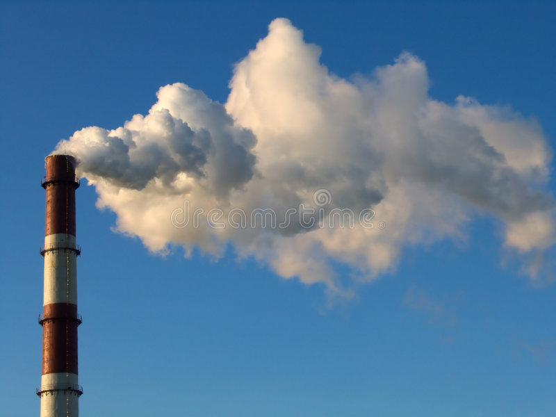 Rauchstapel 1 stockfotografie