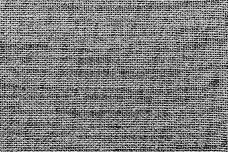 Raue geflochte Sackleinenbeschaffenheit der schwarzen Farbe lizenzfreies stockfoto