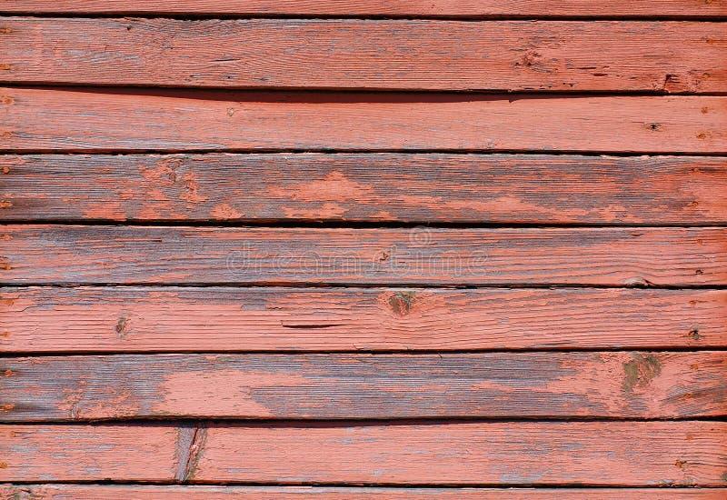 Raue gemalte Planken stockbild