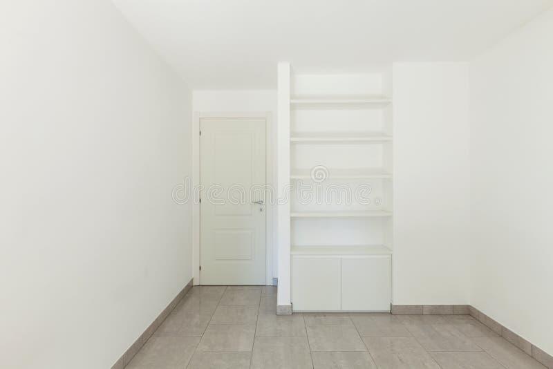 Raum der leeren Wohnung lizenzfreie stockfotografie