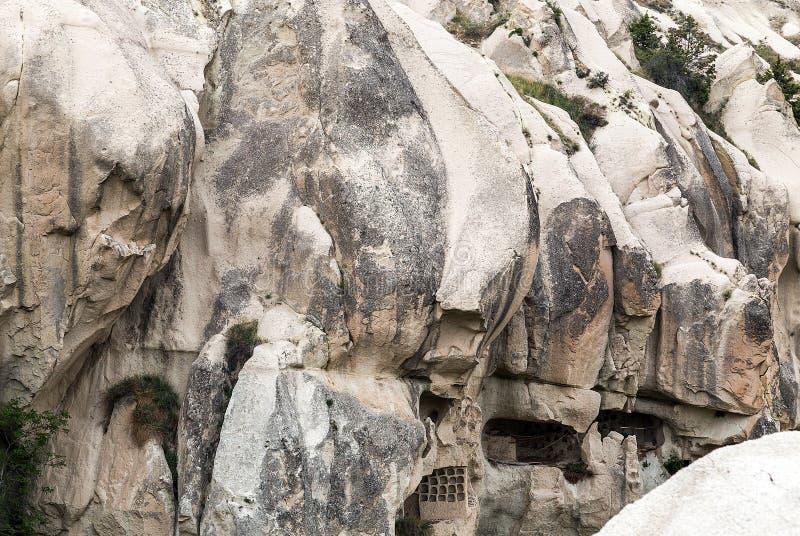 Raum im Höhlenkloster stockfoto