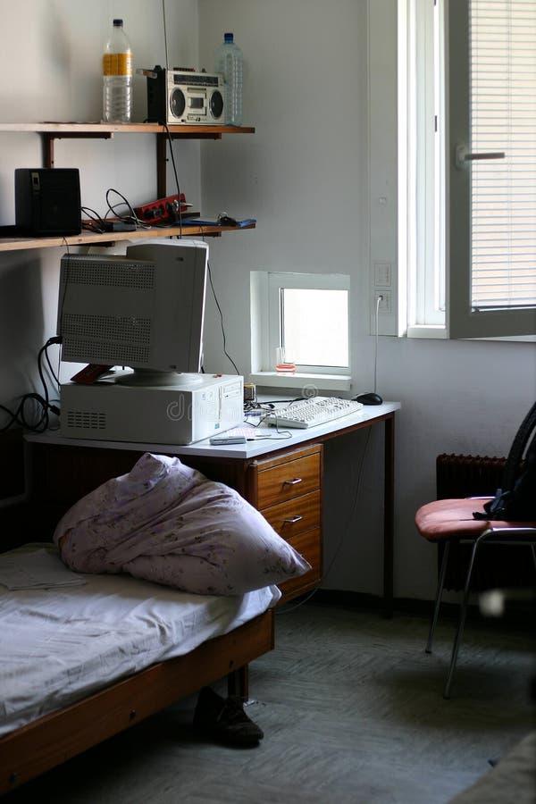 Raum im Schlafsaal lizenzfreie stockbilder