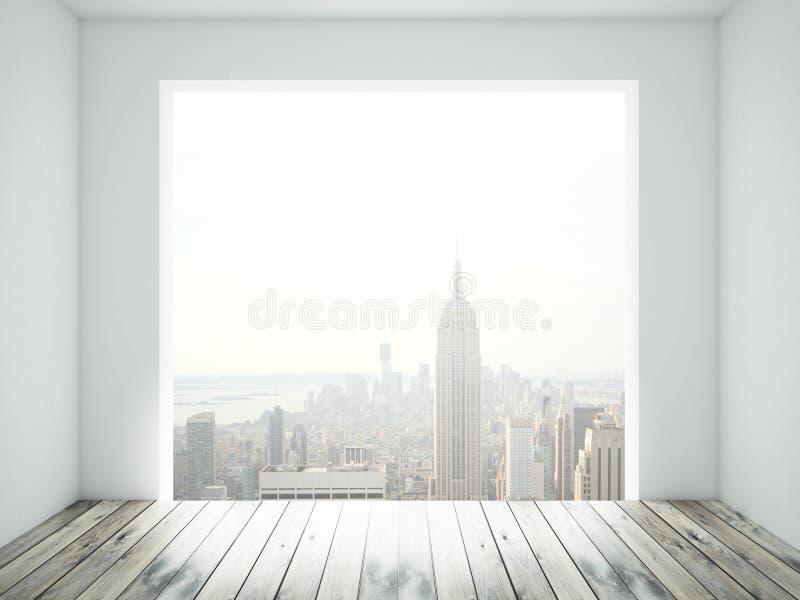 Raum mit Fenster lizenzfreies stockfoto