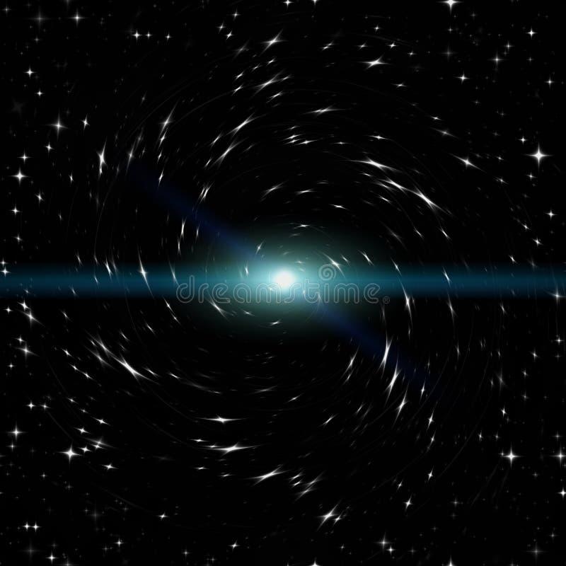 Raum voll von Sternen stockfotos