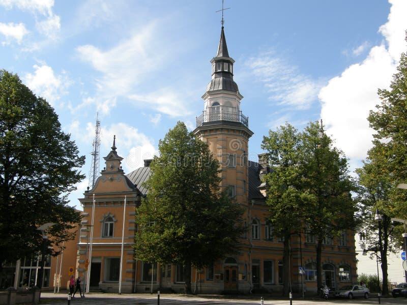 Rauma miasteczko, Finlandia obraz royalty free