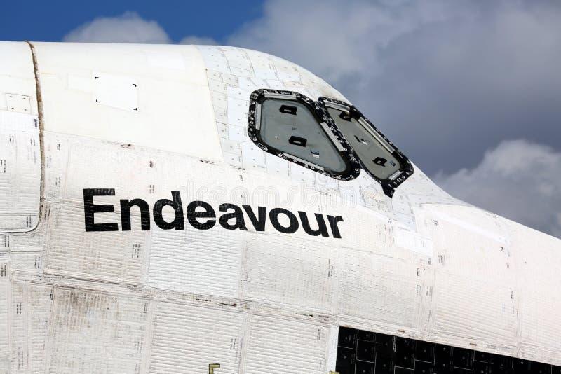 Raumfähre-Bemühung lizenzfreie stockfotografie