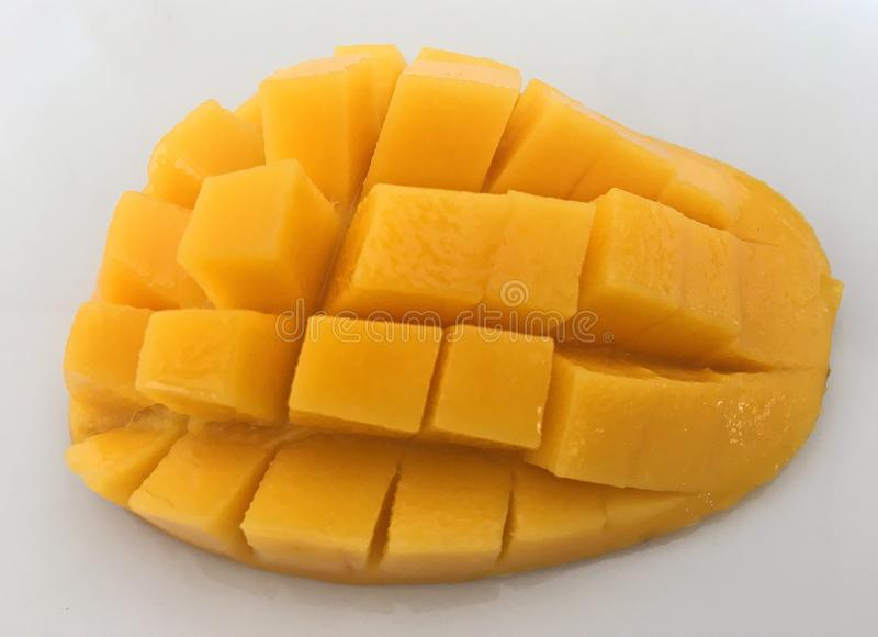 Rauminhalt berechneter Honey Mango, Abschluss oben lizenzfreie stockbilder