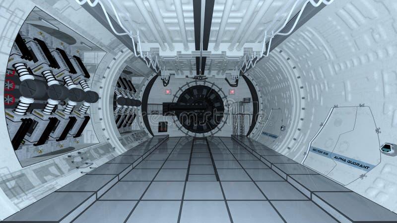 Raumstation stockbild