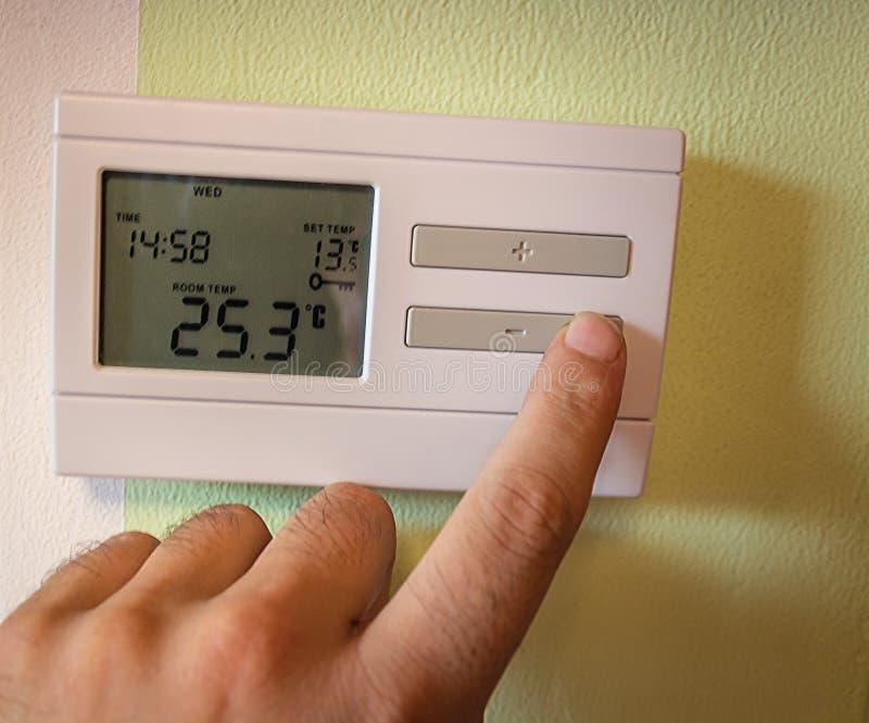 Raumtemperatur lizenzfreies stockbild
