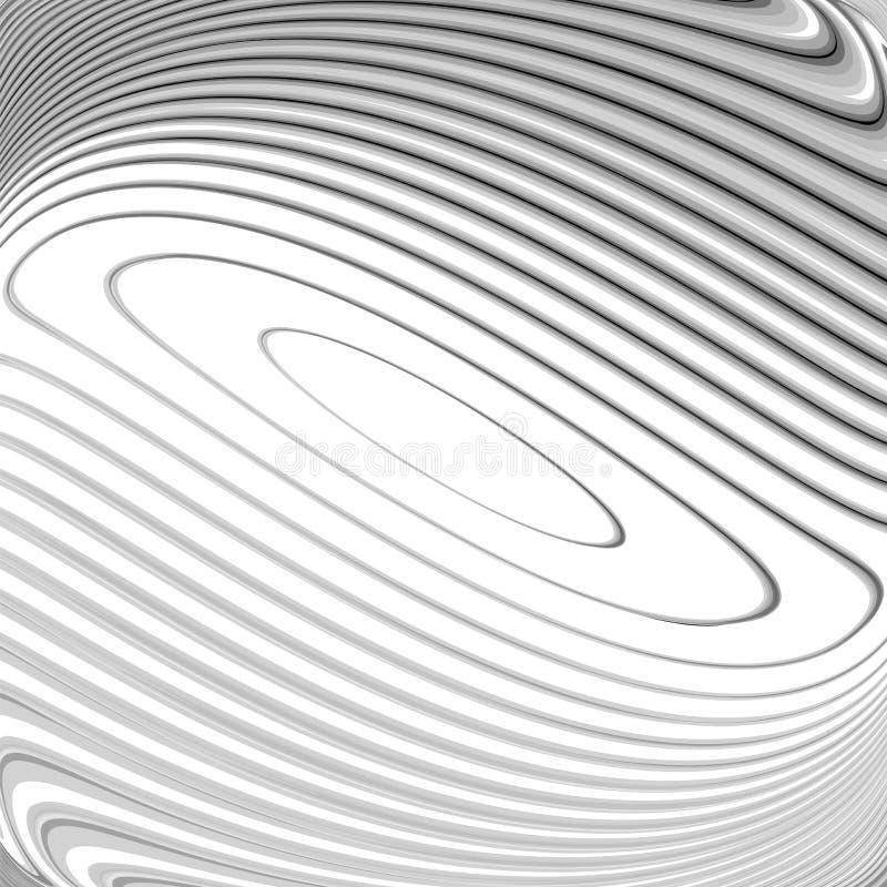 Rausch-Bewegungshintergrund des Designs einfarbiger stock abbildung