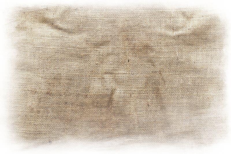 Rausschmiß des groben Sackzeugs lizenzfreies stockfoto