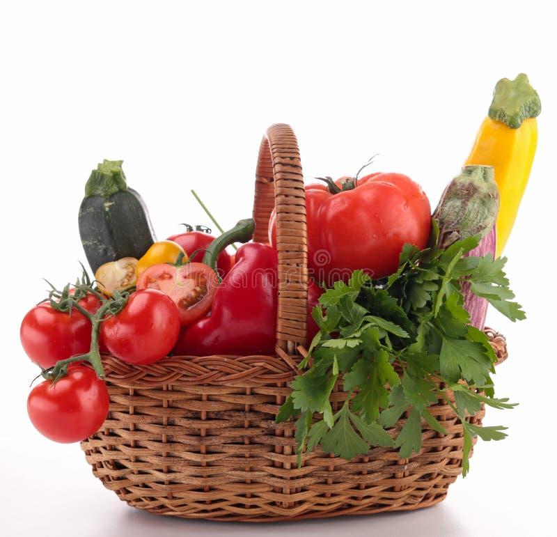 Rauwe groenten royalty-vrije stock afbeeldingen