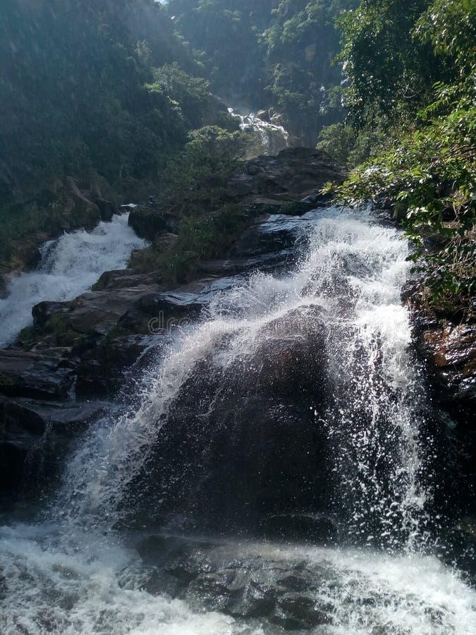 Ravana ella. This marvellous waterfall can only be seen at ella, sri lanka royalty free stock photography