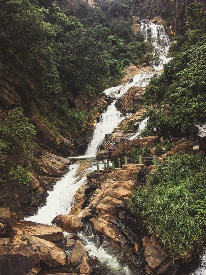 Ravana nedgångar Sri Lanka, Ella arkivbild