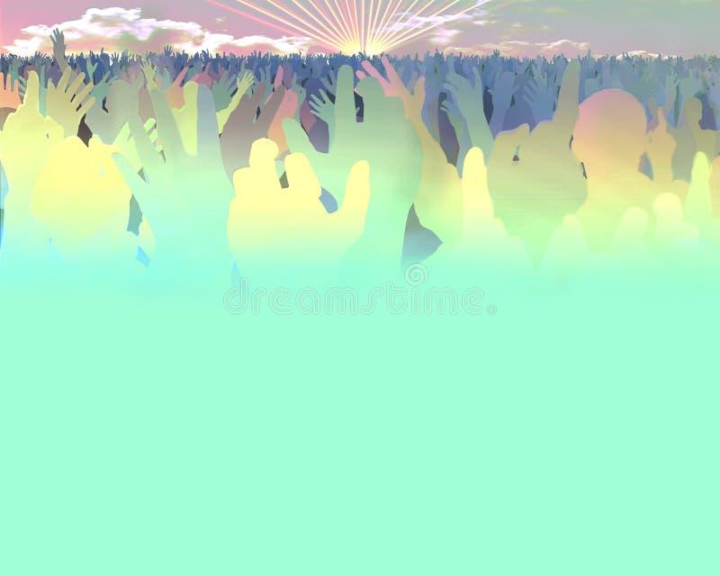 rave бесплатная иллюстрация