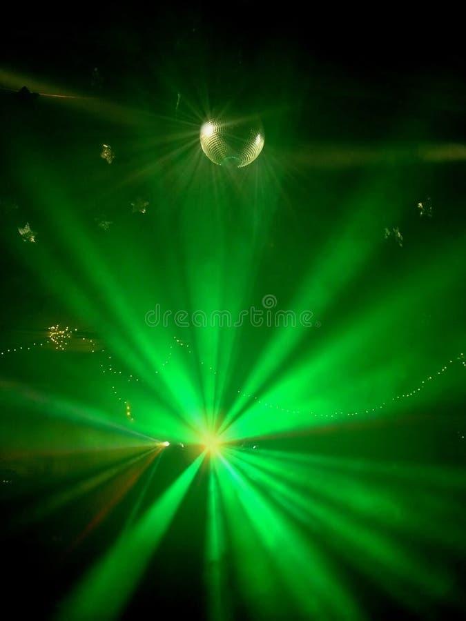 Rave Verde Immagini Stock