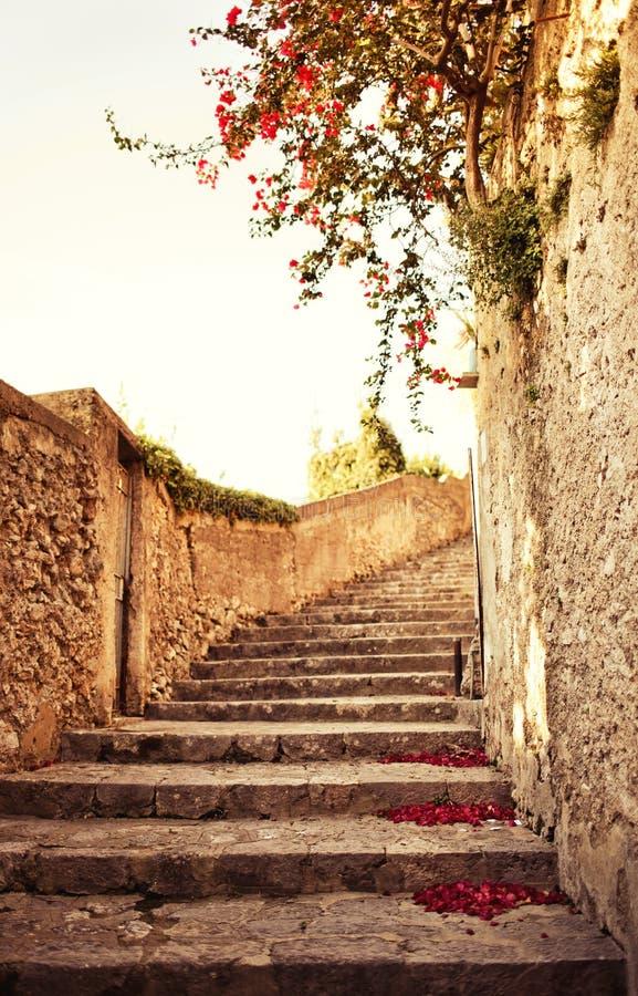 Ravello, costa de Amalfi, Italia. fotos de archivo