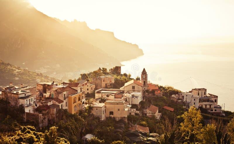 Ravello, costa di Amalfi, Italia. fotografie stock