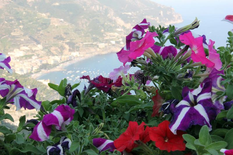 Ravello od above obraz royalty free
