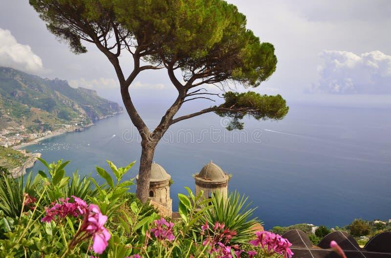 Ravello sur la côte d'Amalfi, Italie photo libre de droits