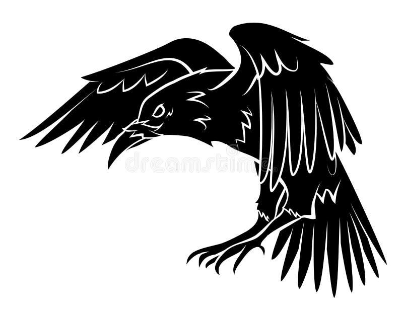 raven royalty-vrije illustratie